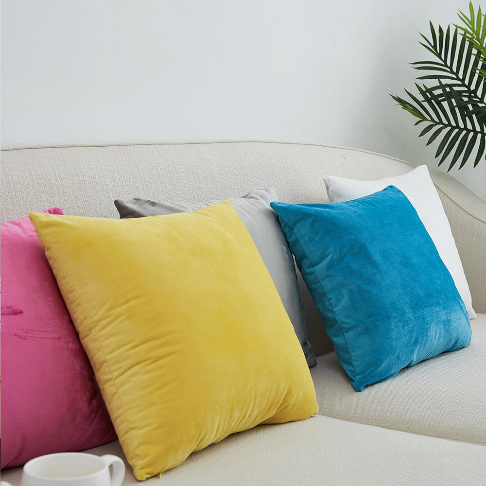 New Super Soft Velvet Sofa Cushion Cover 40x40/45x45/50x50/55x55/60x60/65x65/70x70cm Throw Pillow Cover Decorative Pillow Case