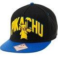 Новый Покемон Пикачу Плоская Крышка Хип-Хоп Snapback Caps Мода Высокое Качество Письмо Бейсболка Для Женщин Мужчин Кости Casquette