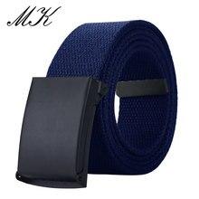 MaiKun ремень мужской ремень холщовые ремни для мужчин военный тактический мужской пояс с металлической ползунковой пряжкой мужские ремни для джинсов и брюк
