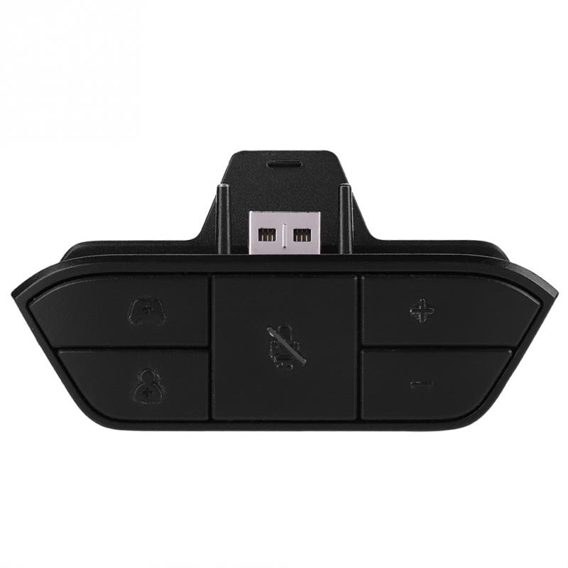 Dust Proof Stereo Headset Adapter For Xbox One With Game