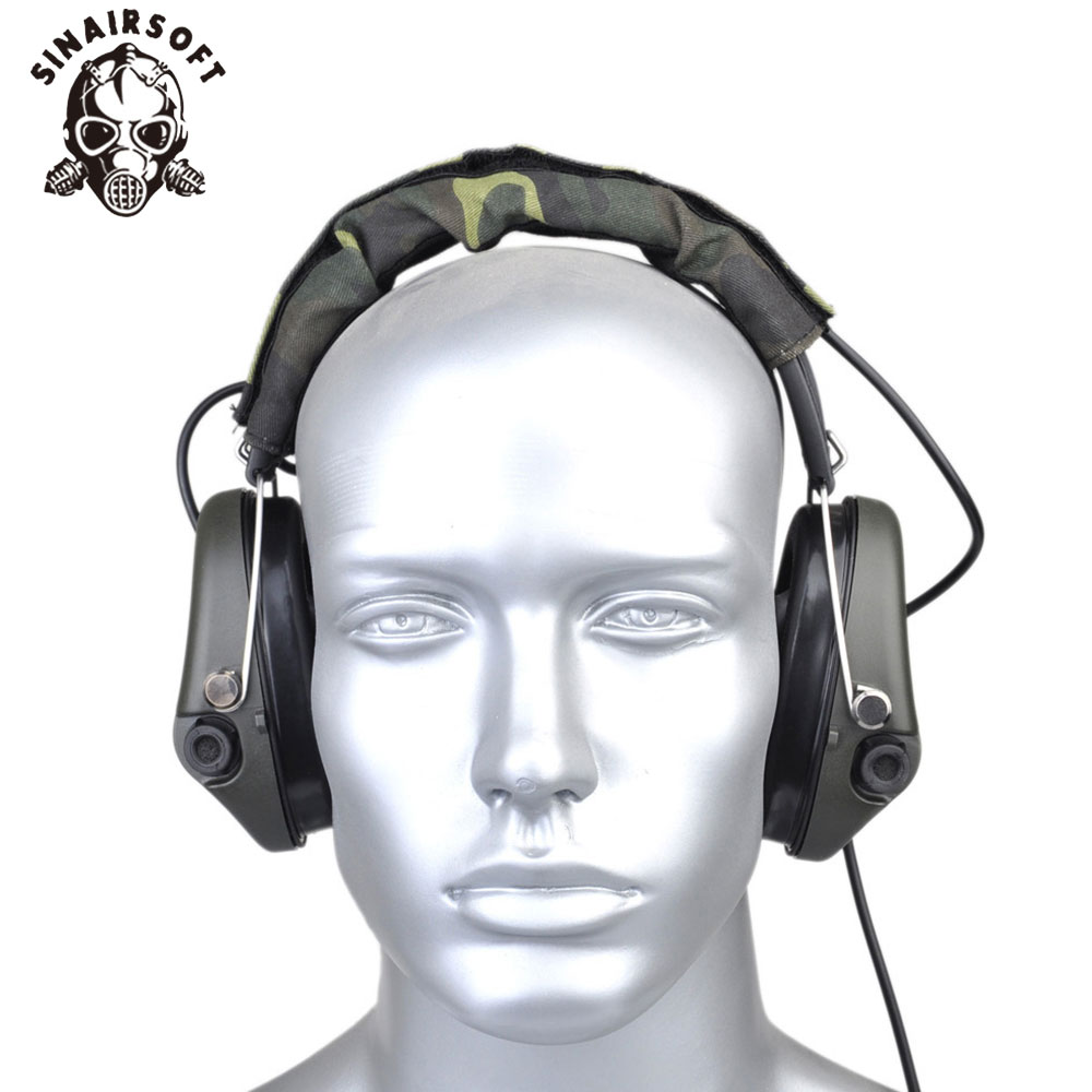 SINAIRSOFT Z037 Tactical SORDIN Headset VER IPSC Military Hunting Noise Reduction Earphone Hunting Noise Reduction Headphones z tactical noise reduction headset comtac ipsc style tactical hunting shooting protective earphone for airsoft military radio