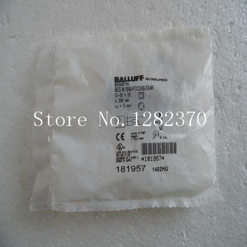 [SA] New original special sales BALLUFF sensor switch BES M18MI-POC50B-S04K spot --2PCS/LOT [sa] new original special sales balluff sensor bes m18mi psc50b bv03 spot 2pcs lot