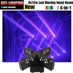 Darmowa wysyłka wiązka 8 sztuk ruchome głowy światła LED pająk na LED bar ślub Disco dj etap