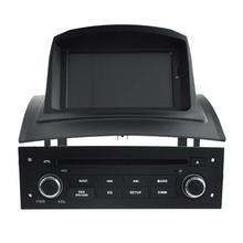 For 7″ Quad core android 5.1 Megane 2 2002-2008 Car DVD player GPS Tape Radio Bluetooth 3G SD RDS DDR 3 1GB MP4 MP5 16G flash