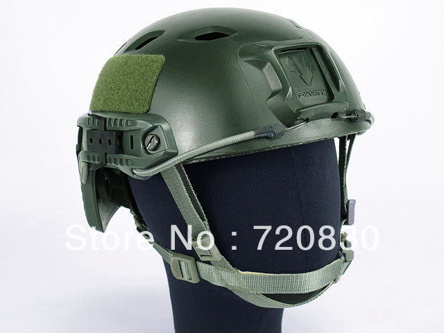 Airsoft FAST Base Jump Style Helmet Olive Drab AT Foliage Green BROWN BK Multi Camo DD ACU Digital Camo