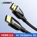 Ugreen HDMI Kabel 4 K HDMI 2.0 Kabel voor IPTV LCD xbox 360 PS3 4 pro Set-top Box Nintend schakelaar Projector Kabel HDMI 5 M 10 M