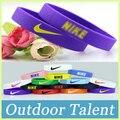 5 unids/lote Hotsale 15 colores pulsera de silicona baloncesto pulsera de silicona pulsera deporte pulsera envío gratis