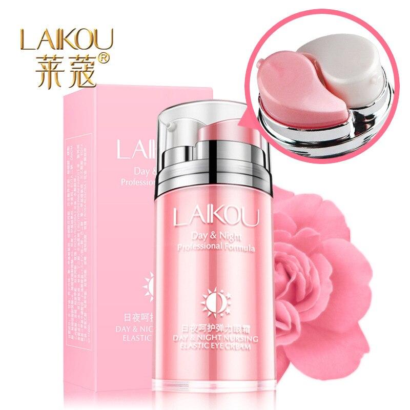 Day And Night Elastic Eye Cream Anti-puffiness Remove Wrinkles Skin Care Eye Cream Dark Circle Anti Aging Moisturizing Firming