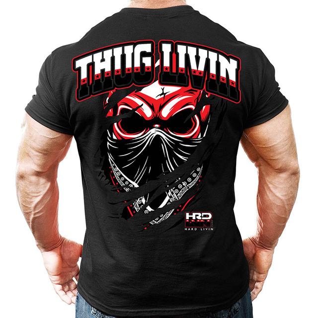 T shirt Crossfit Fitness Bodybuilding Fashion cotton clothing