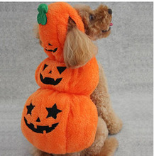 Halloween Dog Costume Pet Clothing Autumn and  Winter Clothes Outfit Products Supplies Coats Jackets