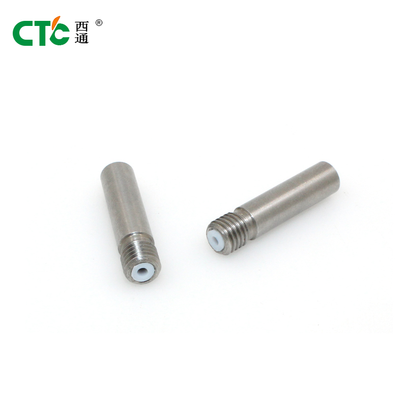 ФОТО CTC 3D printer stainless steel throat +PTFE tube stainless steel feeding tube for CTC throat with PTFE tubing