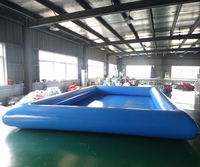 Free blower big Inflatable PVC swimming pool china for sale for children