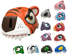 Kids  Helmets With Tail light High Quality cycle Helmet Suit for Bike /Skate