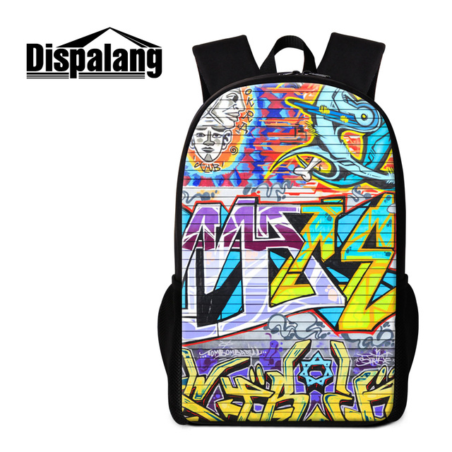 9a23383af8 Dispalang 3D colorful artistic painting backpack for women cute girls gifts school  bags for teenagers best