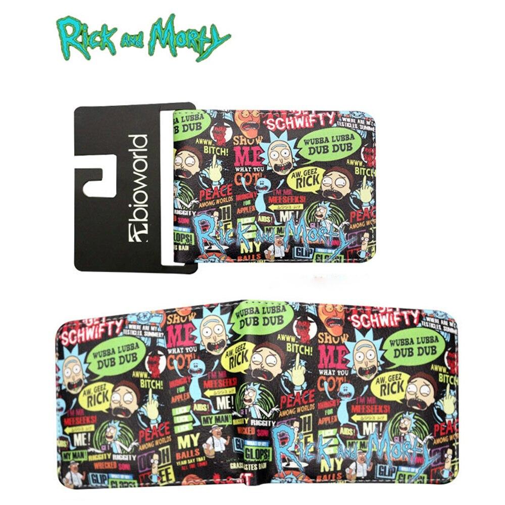 Geldscheinklammern GemäßIgt Männer Brieftasche Rick Und Modi Abenteuer Sci-fi Spiele Kurze Brieftasche Mann Kreditkarte Pack Schnell Verschiffen Grün Rosa Brieftasche Ohne RüCkgabe
