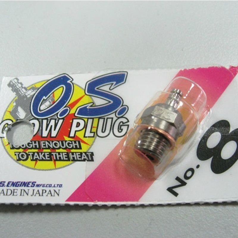 Original O.S 8 <font><b>OS</b></font> No.8 Medium Plug N Glow Plugs O.S8 For <font><b>OS</b></font> Engine image