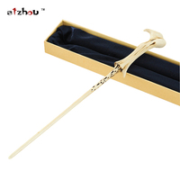 Stzhou Magic Tricks Creavite Lord Voldemort Magic Wand Harry Potter Cosplay Kids Toys Halloween Gift With