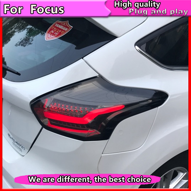 Car Styling For Ford Focus 2 Taillights 2017 2016 2018 Led Tail Lamp Rear Trunk Cover Drl Signal Brake Reverse In Light Embly From
