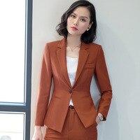 Yuxinfeng 3XL Ladies Formal Blazer White Women One Button Slim Female Blazer Jackets Notched Collar Plus Size Office Blazers Set