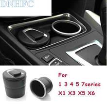 DNHFC автомобиля пепельница с специальная коробка для хранения для BMW 1 3 5 7 серии F30 F20 F10 F01 F13 F15 для BMW x1 x3 x5 x6 F48 F25