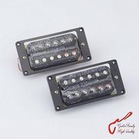 1 Set Original Genuine Epi Electric Guitar High Power Ceramic Magnet Bar Open Humbucker Pickup Black