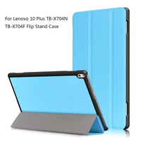 Tablet Case For Lenovo TAB4 10 Plus Ultra Thin Slim Leather Flip Case For Lenovo TAB