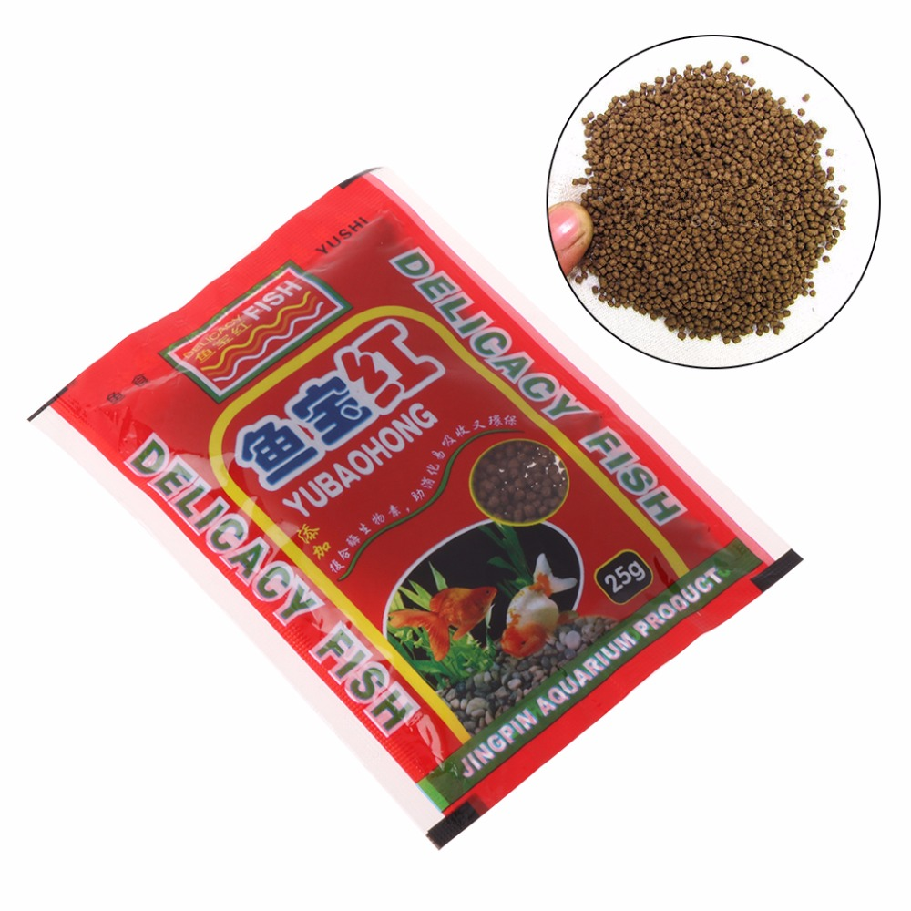 Feeders Responsible 12g Aquarium Fish Forage Grains Protein Fish Tank Small Fish Food Feeding For Goldfish Tropical Carp C42 High Resilience
