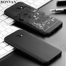 BONVAN Phone Case For Samsung Galaxy A3 A5 A7 2017 High Quality Silicone Protective Back Cover Cases For Samsung A320 A520 A720