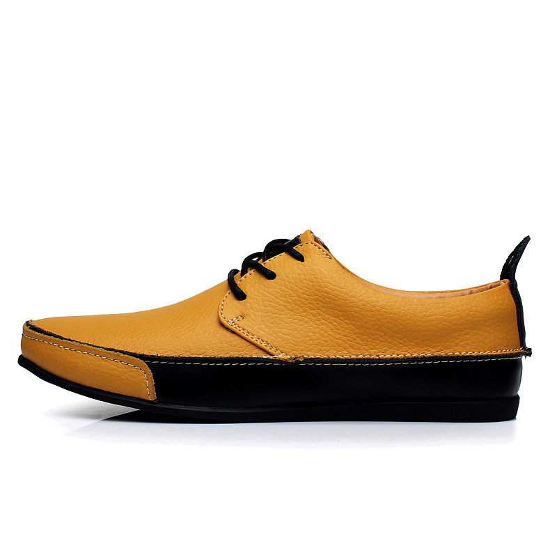 94eb769850f New leader male shoe leisure shoes fashion men Oxford work dress shoes  outdoor mens black casual shoes,Hombres zapatos de cuero-in Women's Flats  from Shoes ...