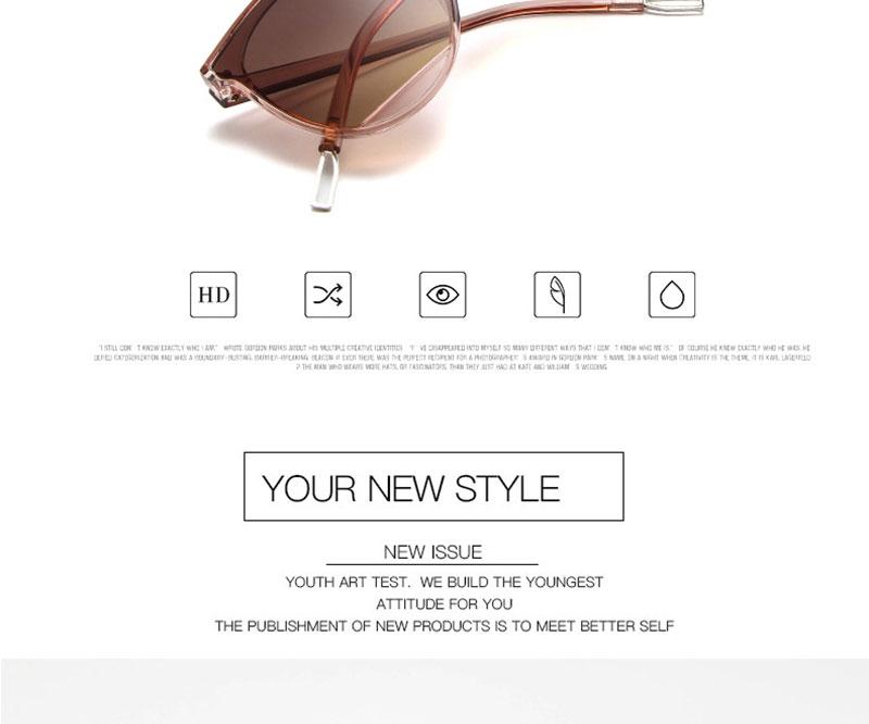 RBROVO Gafas de sol mujer vintage 3