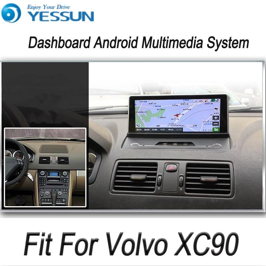 YESSUN pour Volvo XC90 2004 ~ 2013 Android voiture GPS Navigation lecteur DVD multimédia Audio vidéo Radio multi-écran tactile