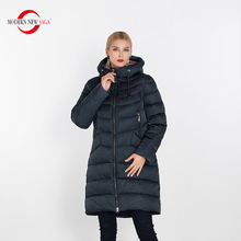 Modern New SAGA 2019 Winter Women Warm Jacket Zipper Female Hooded Coat High Quality Thick Cotton Padded Ladies Parkas