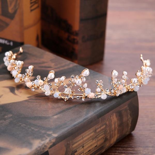 Vintage Gold Bride Tiaras...