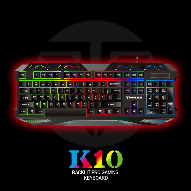 Gaming Keyboard ABS USB Wired Waterproof 112 Keys Backlit Durable For Computer SL@88
