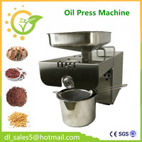 Household Automatic Oil Press Machine Small Steel Commercial Electric Oil Machine For Olive Soybean