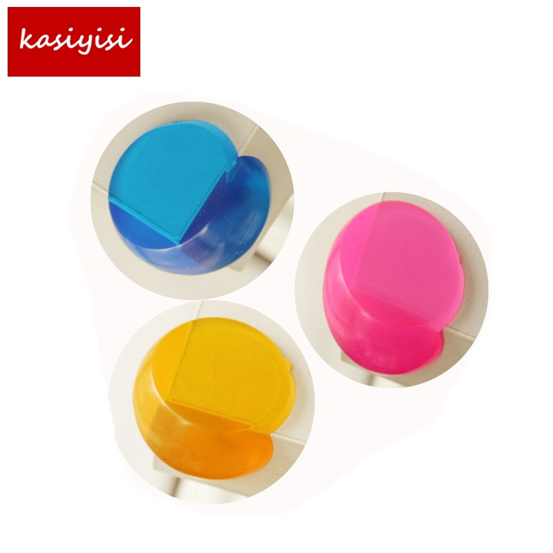 10PCS /lot Anti Collision Table Angle Hot Candy Colors Transparent Safety Anti Collision Table Angle