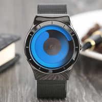 Kreative iMens Uhren Top Marke Luxus 2017 Edelstahl Mesh-Armband Quarzuhr Mode Lässig Stil Relogio Masculino Uhr
