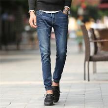 Высокое Качество Отдыха брюки мужчины джинсы мужские slim fit Известный Бренд длинные брюки Повседневные брюки плюс размер 962 #42