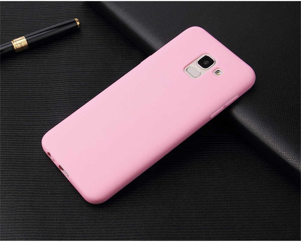 Ultra Thin Cell Phone Case For Samsung Galaxy S6 S7 Edge S8 S9 Plus S8Plus S9Plus soft TPU Silicone Back Cover _19