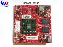 Для Ace r Aspire 4920G 5530G 5720G 5920G 7520G 8920G для ATI Mobility Radeon HD3650 HD 3650 DDR2 512 MB видеокарта для ноутбука