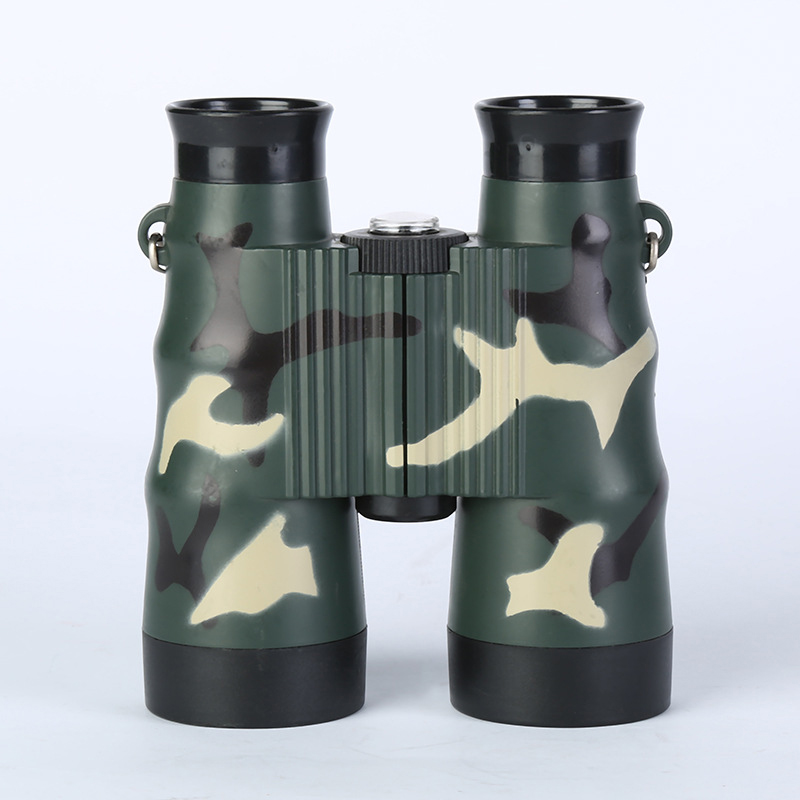 Creative 4x30 Plastic Children Binoculars Pocket Size Telescope Maginification Outdoor Camping Tools Bird Watching Kids Games Scope Gifts Sports & Entertainment