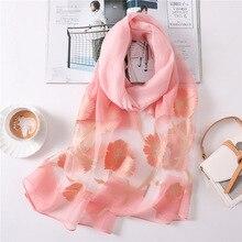 new style 2019 summer women scarf fashion silk scarves lady