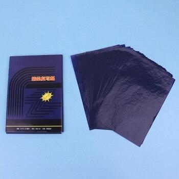 50 Sheets Double Sided Di Carbonio Copiatrice Carta Di Trasferimento Dello Stampino Di Cancelleria Forniture 48K