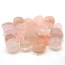 Natural Rose Quartz Tumbled Stone Gemstone Rock Mineral Crystal Healing Chakra Meditation Feng Shui Decor Collection