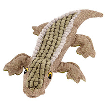 Crocodile Style Plush Squeaky Toy