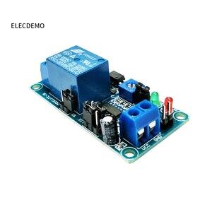 Image 4 - 5V12V normally open trigger delay circuit relay module timing vibration alarm optocoupler isolation  delay module