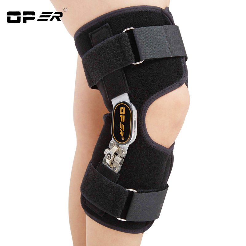 OPER Medical Knee Support Brace Pads Knee bone hyperplasia Orthopedic relief pain Knee Protector Senile Arthritis Guard Adjust scoyco motorcycle riding knee protector extreme sports knee pads bycle cycling bike racing tactal skate protective ear