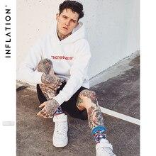 INFLATION NOTHING NEW Fleece Hoodies 2020 F/W Casual Unisex Hoodie With Simple Print  Streetwear Hip Hop Hoodies Men 529W17