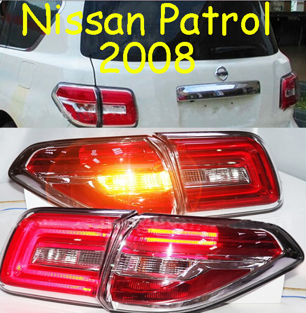 Patrol taillight,2008,Free ship!2pcs/set,Patrol rear light,Red color,Patrol headlight;Bluebird,Sunny,Teana bluebird breaking light 2006 2011 free ship led sylphy rear light led 2pcs set sylphy taillight bluebird teana sunny march