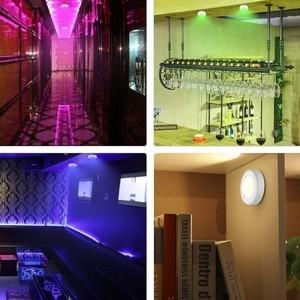 Image 5 - BTgeuse Night Lights Wireless Ceiling Lamp with Remote RGB Mood Light Led Bathroom Light Cordless Hallway Lighting Dimmable